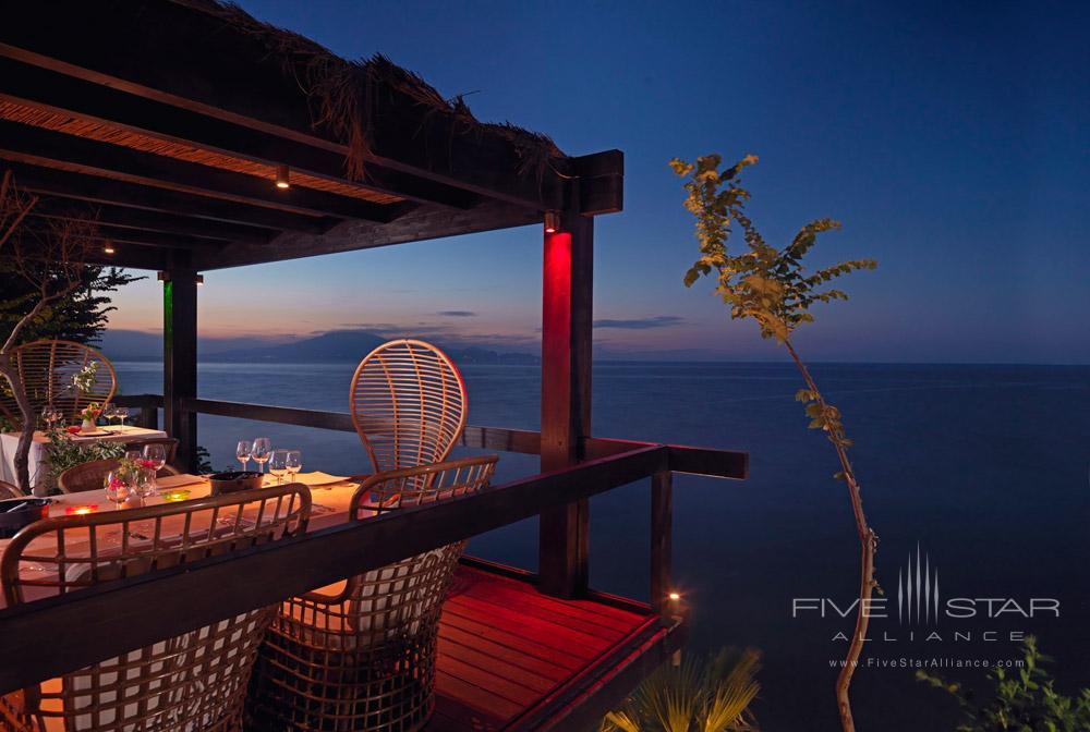 Terrace Dining by Sea at Porto Zante Villas and Spa ZakynthosGreece