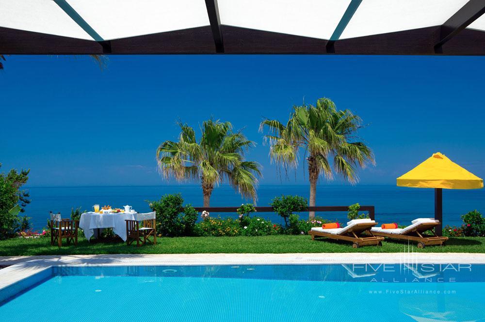 Pool by the Sea at Porto Zante Villas and Spa ZakynthosGreece