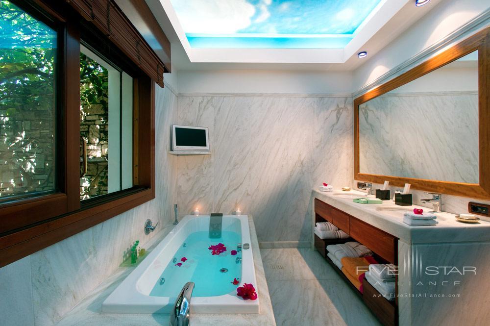 Bath at Porto Zante Villas and Spa ZakynthosGreece
