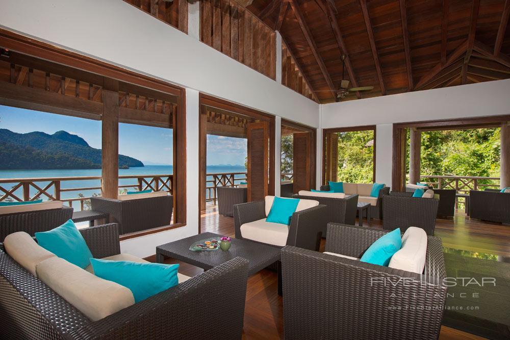 Terrace dining at The Andaman LangkawiMalaysia