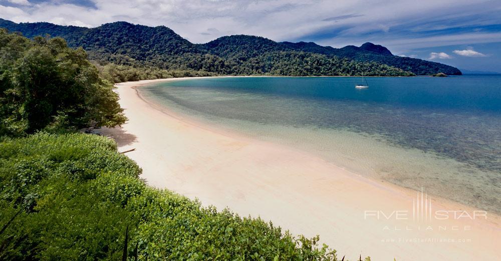 Beach at The Andaman LangkawiMalaysia