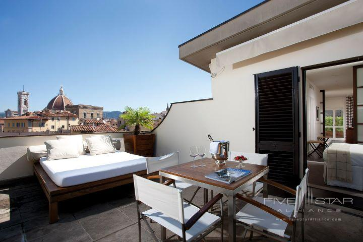 Gallery Hotel Art Suite Terrace