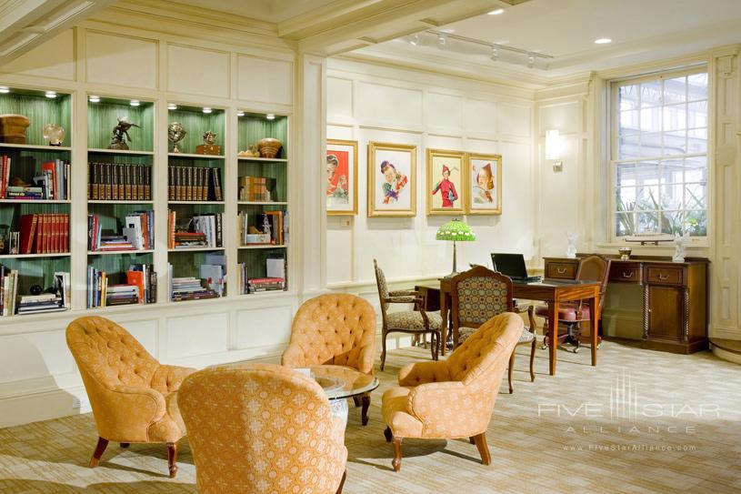 Lobby Area at Vanderbilt Hall
