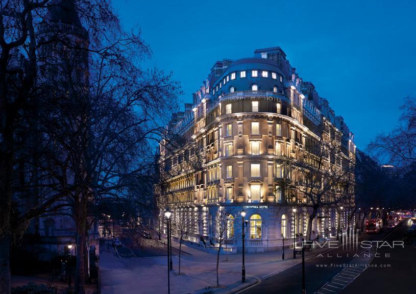 Exterior of Corinthia Hotel London