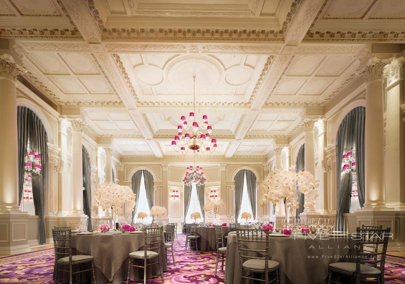 Ballroom at Corinthia Hotel London