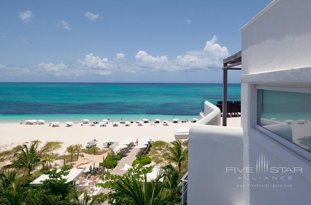 Views of Grace Bay Beach from Penthouse at Gansevoort Turks and CaicosProvidencialesTurks & Caicos Islands