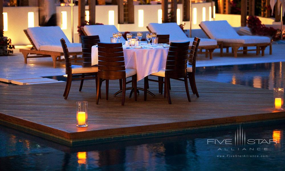 Stelle Pool Island Dining at Gansevoort Turks and CaicosProvidencialesTurks & Caicos Islands