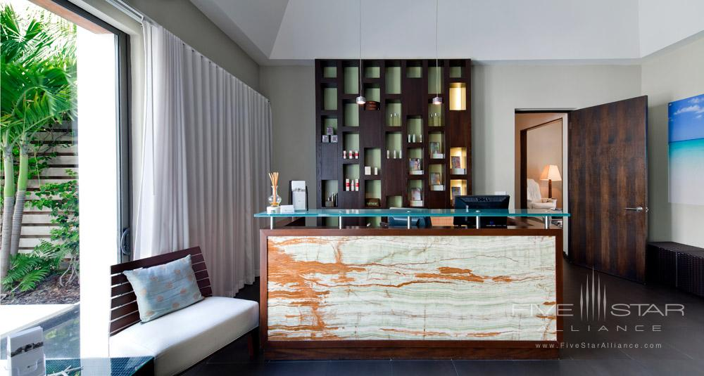 Exhale Spa Reception at Gansevoort Turks and CaicosProvidencialesTurks & Caicos Islands