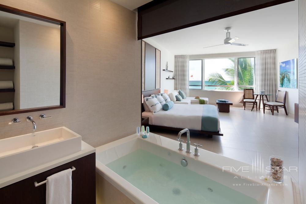 Luxury Ocean Beachfront Spa Studio Room at Gansevoort Turks and CaicosProvidencialesTurks & Caicos Islands
