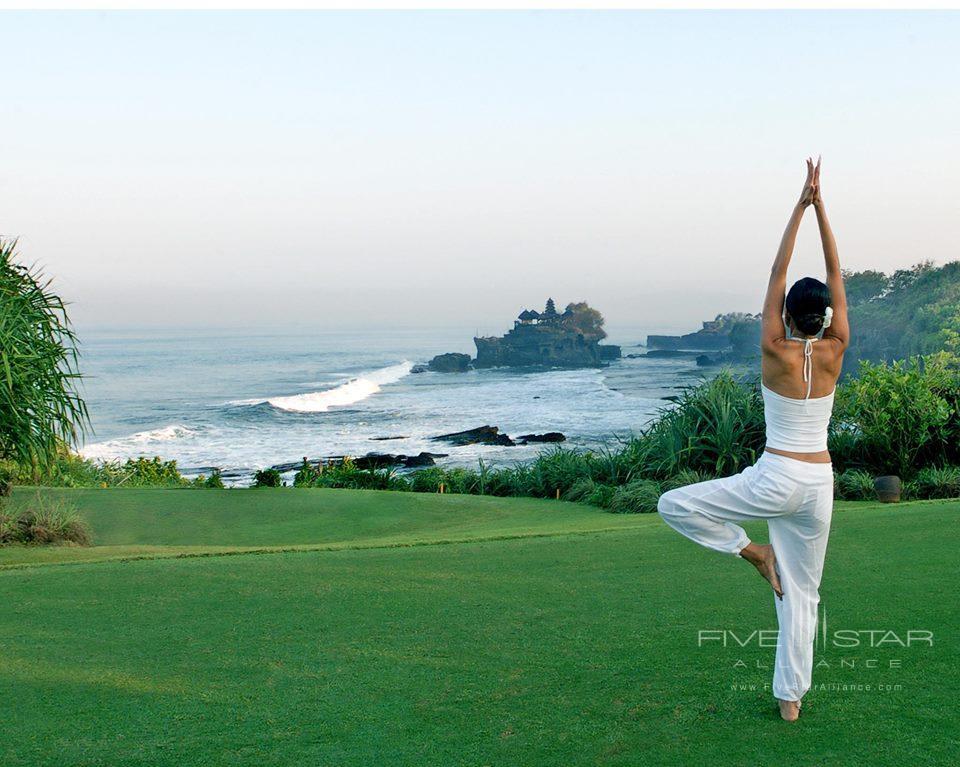 Pan Pacific Nirwana Bali Resort Outdoor Yoga