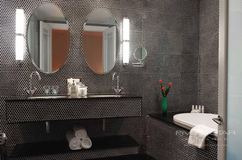Guest Bathroom at of Hotel DeBrettAuckland