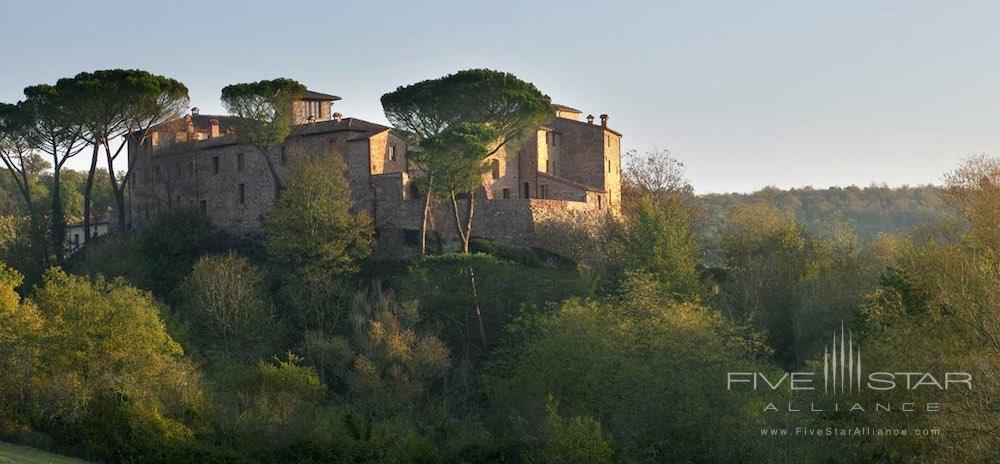 Castel Monastero in Siena, Italy