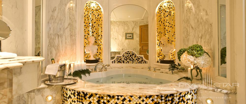 Soaking Tub in Suite at Royal Olympic Hotel Greece