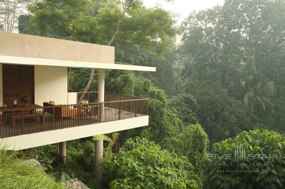 Terrace of the Tree Villa at Alila Ubud