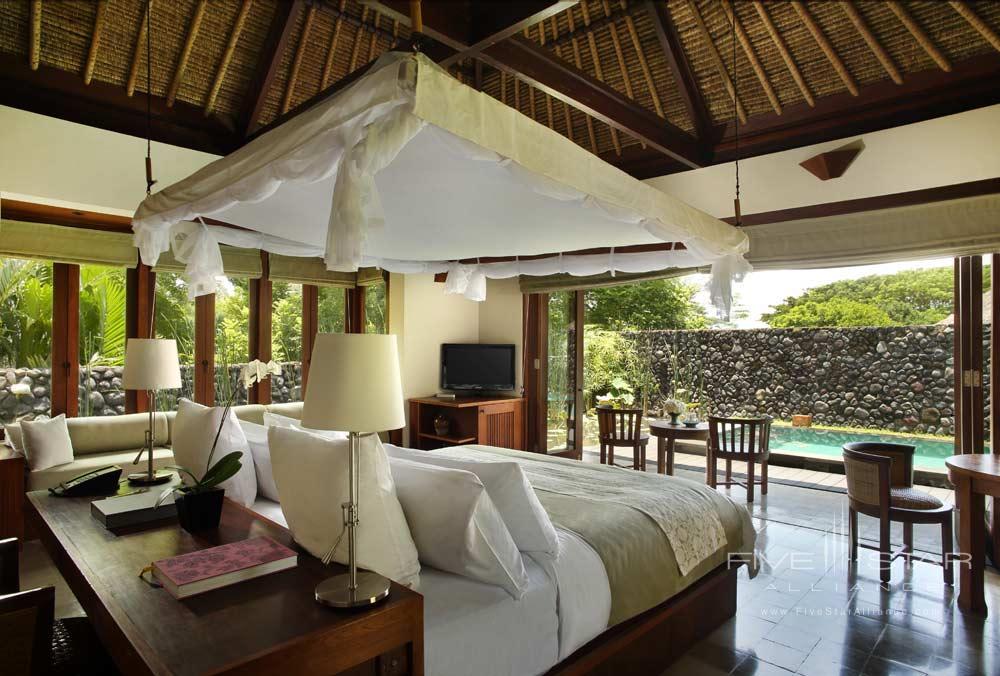 Pool Villa Bedroom at Alila Ubud