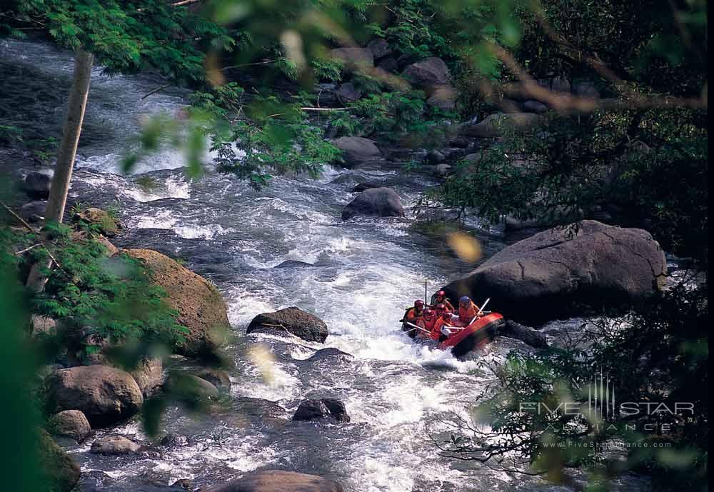 Rafting Experience at Alila Ubud