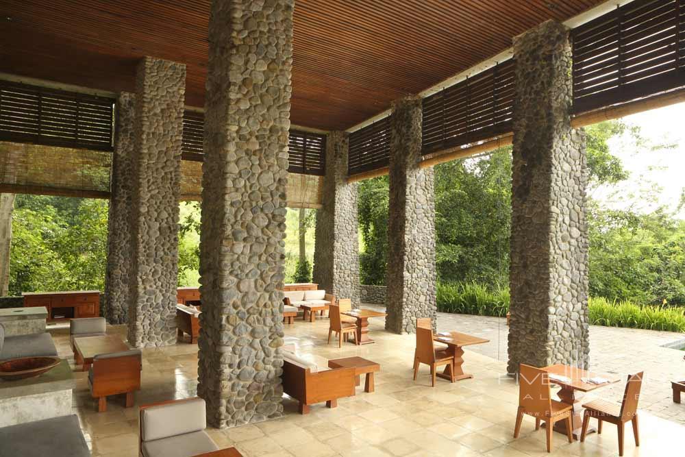 Poolside Lounge and Dining at Alila Ubud