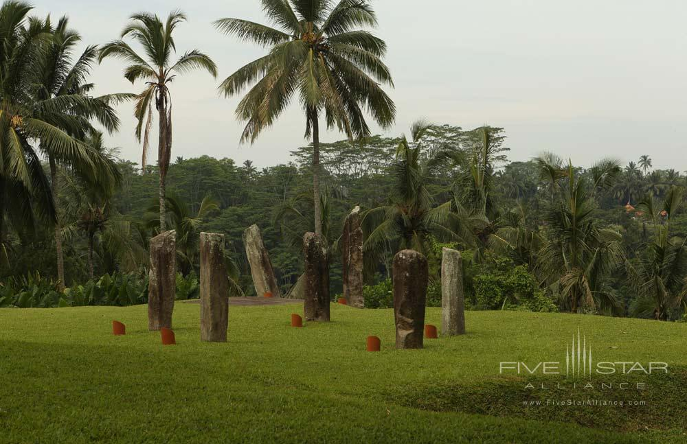 Sculpture Garden Featured for Events at Alila Ubud