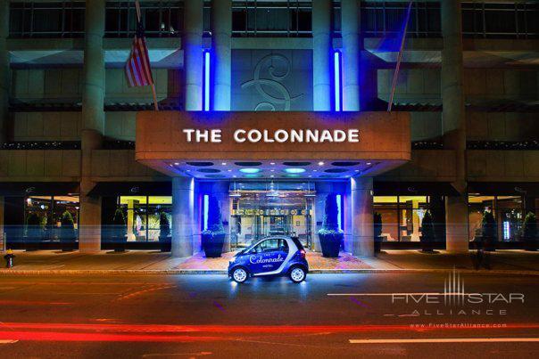 Colonnade Boston Copley Square Back Bay