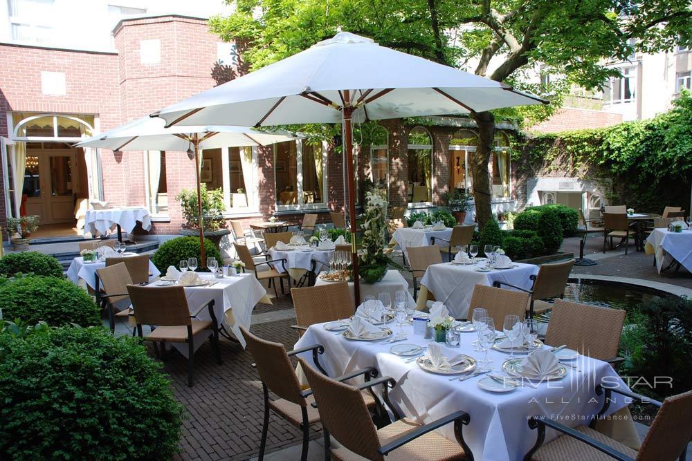 Garden of the Brighton Restaurant at Stanhope HotelBrusselsBelgium