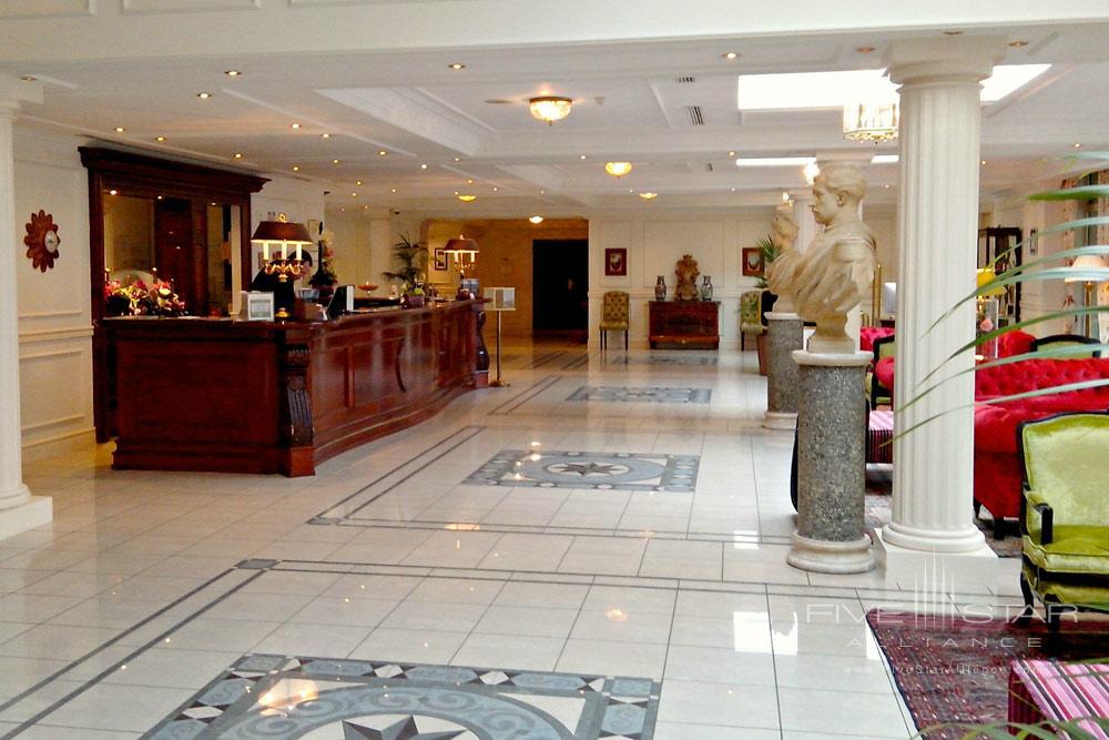 Reception Area at Stanhope HotelBrusselsBelgium