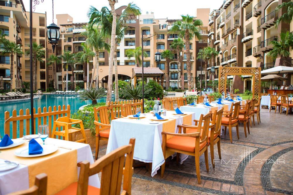 Terrace Dining at Villa Del Arco Beach Resort And Grand Spa, Cabo San Lucas