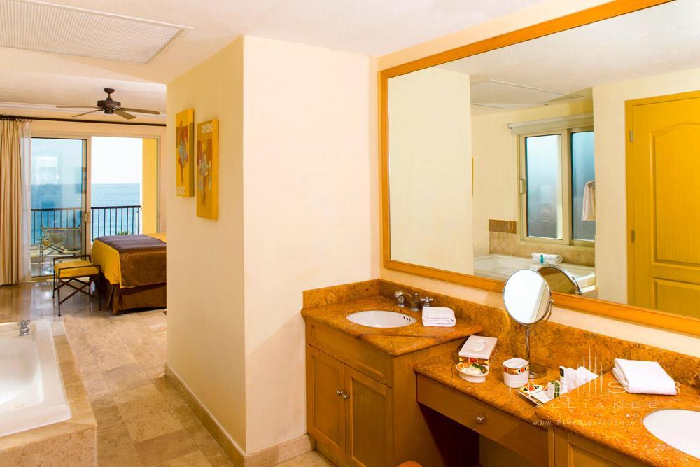 One Bedroom Suite Bath at Villa Del Arco Beach Resort And Grand Spa, Cabo San Lucas