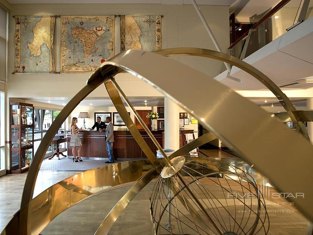 Lobby of The PortsWood HotelCape TownSouth Africa