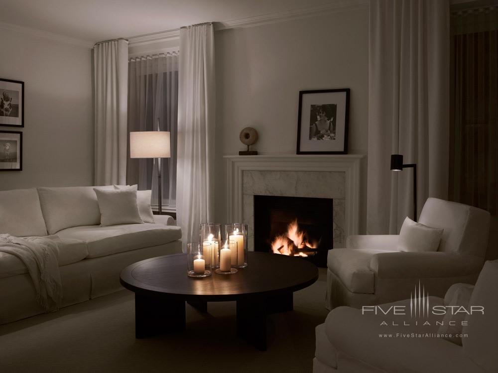 Public Hotel Chicago Liz Taylor Suite Living Room