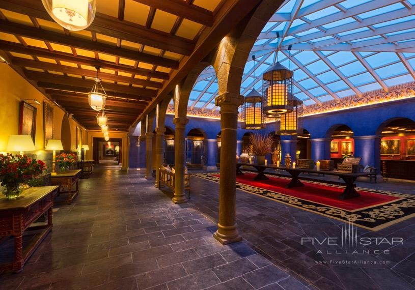 Libertador Palacio del Inka Cusco Reception Area