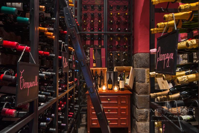 Palacio del Inka Wine Cellar