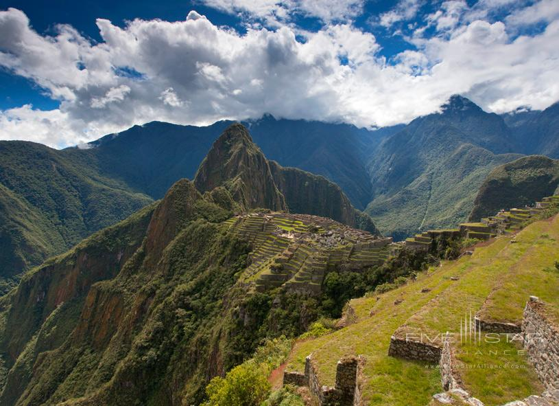 Palacio del Inka Machu Picchu