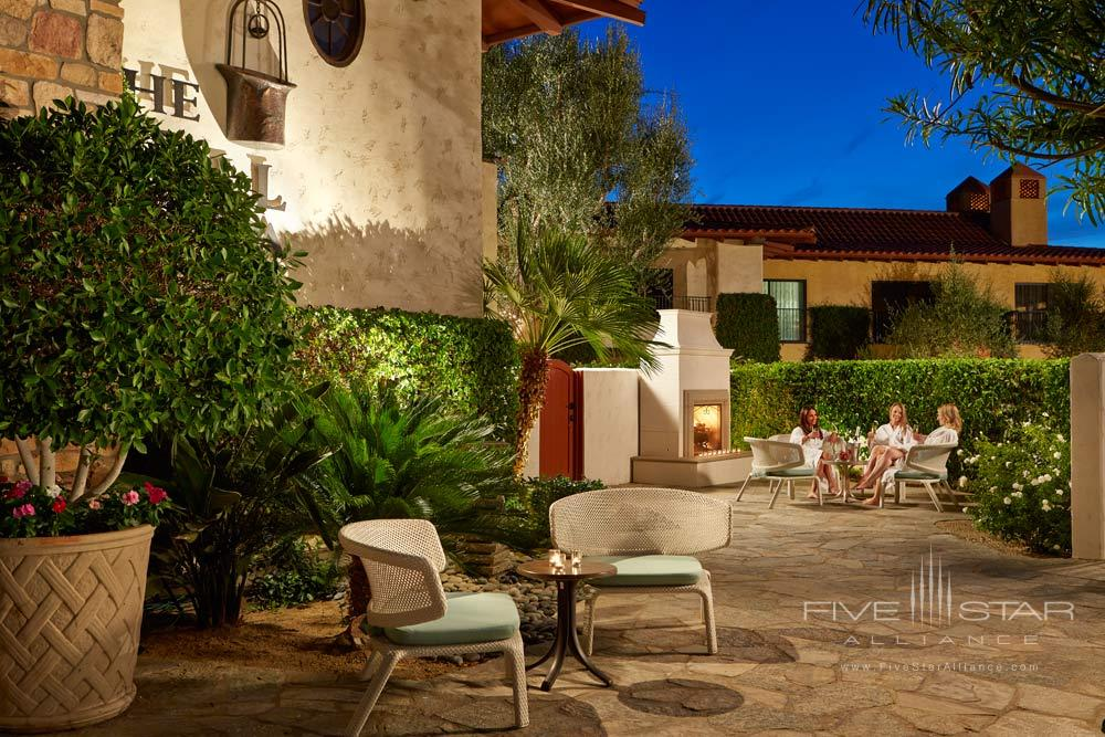 Ladies Private Spa Patio at Miramonte Resort and SpaIndian WellsCA