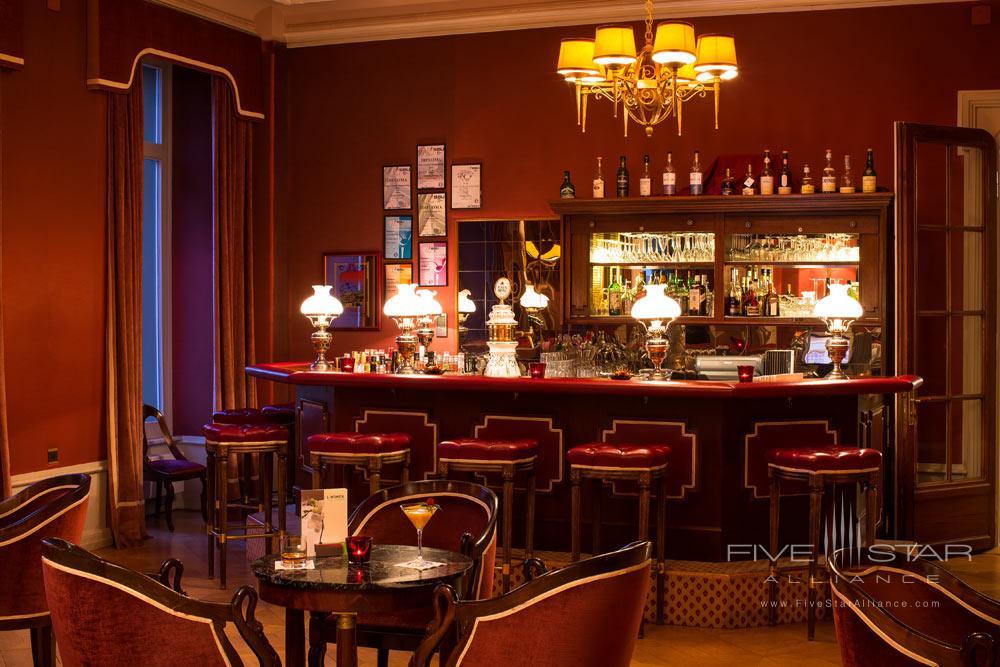 Bar at Lindner Grandhotel Beau RivageSwitzerland