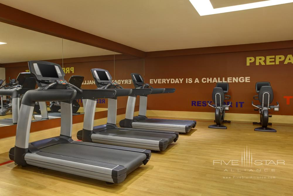 Fitness Center at Jeddah Sheraton Hotel, Jeddah, Saudi Arabia
