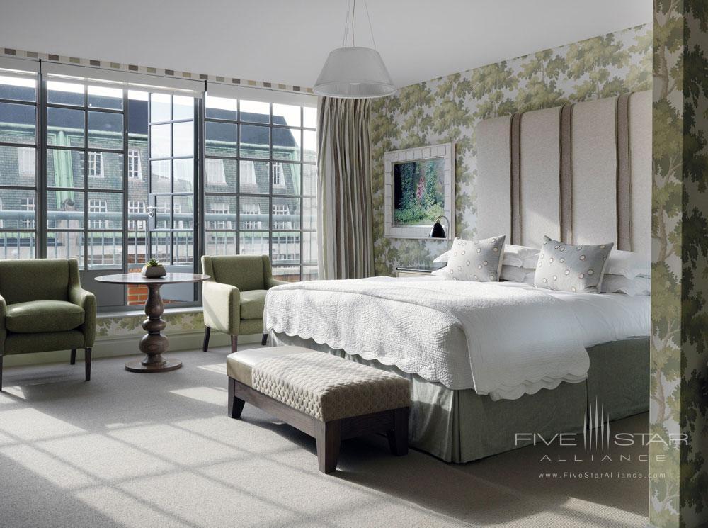 Suite Guestroom at Soho Hotel LondonUK