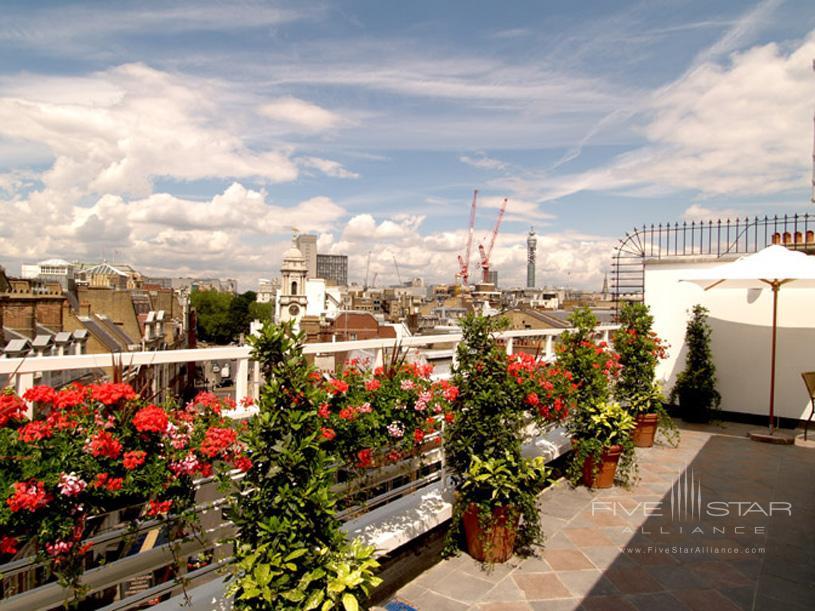 The Westbury London Penthouse Terrace View