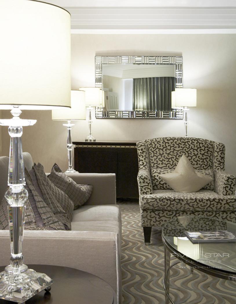 The Westbury Corner Suite Living Area