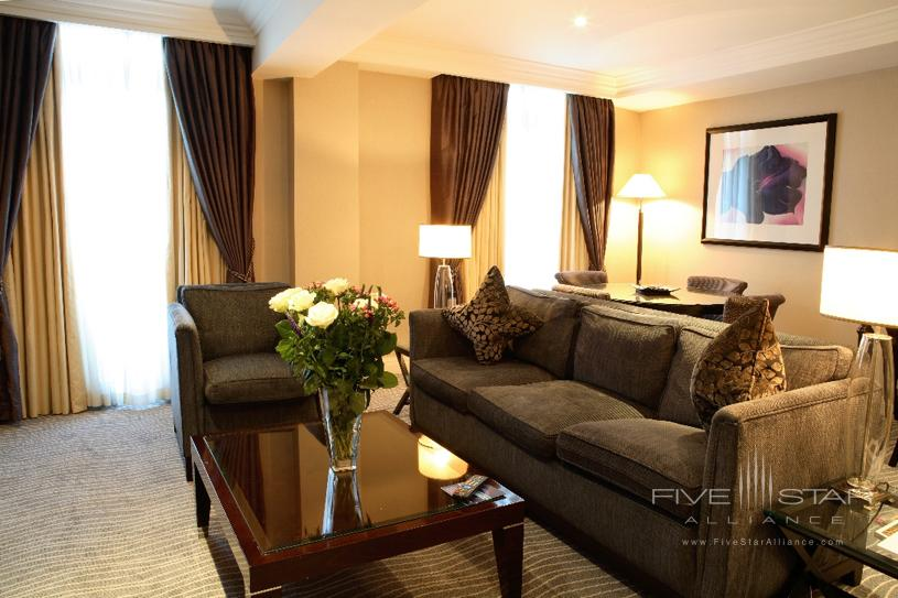 The Westbury Terrace Suite Living Area
