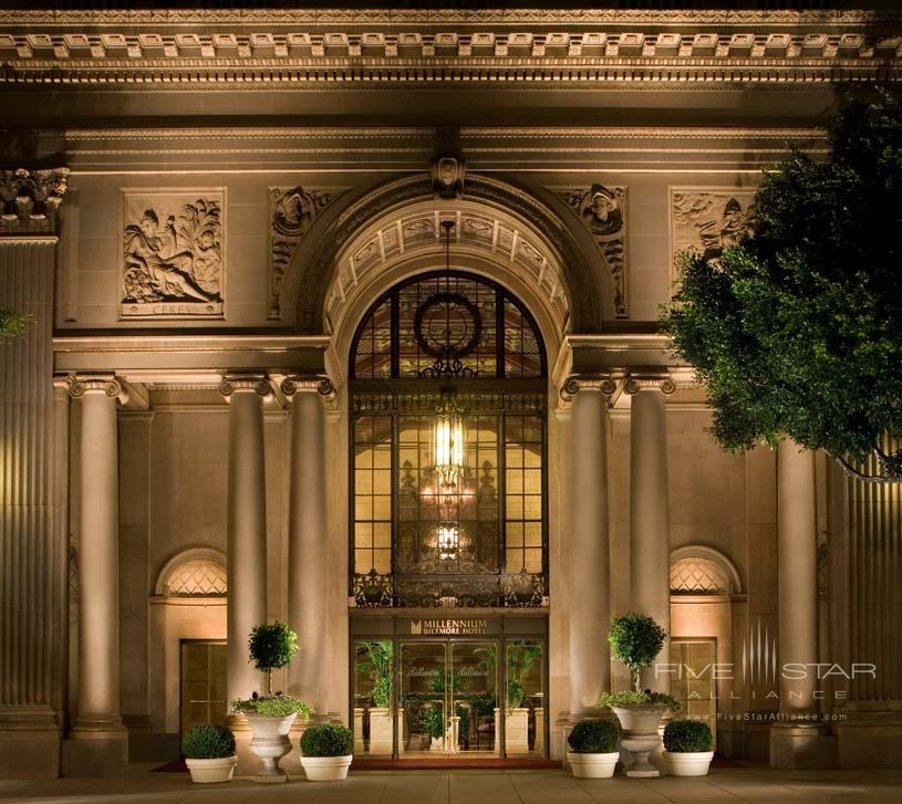 Exterior of The Millennium Biltmore Los Angeles Hotel