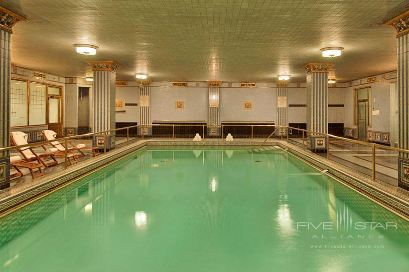Indoor Pool at The Millennium Biltmore Los Angeles
