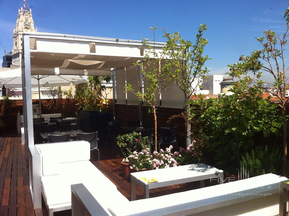 De Las Letras Hotel Terrace