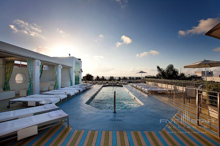 The Hotel of South Beach Rooftop Pool