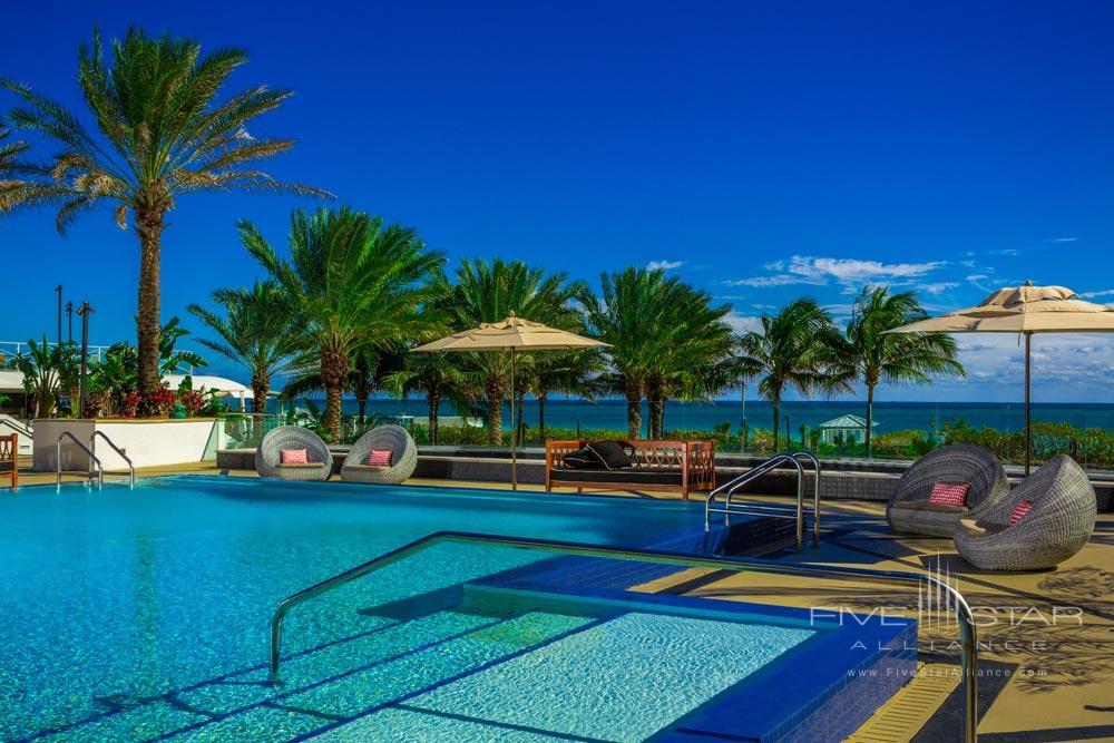 Upper Level Pool at The Eden Roc Miami Beach Hotel.