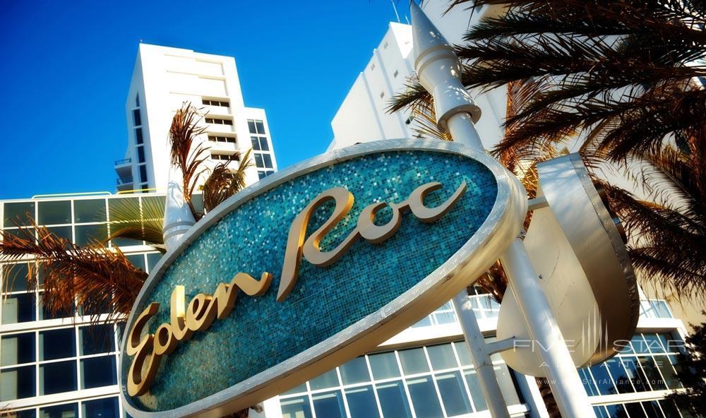 Exterior of Eden Roc Miami Beach