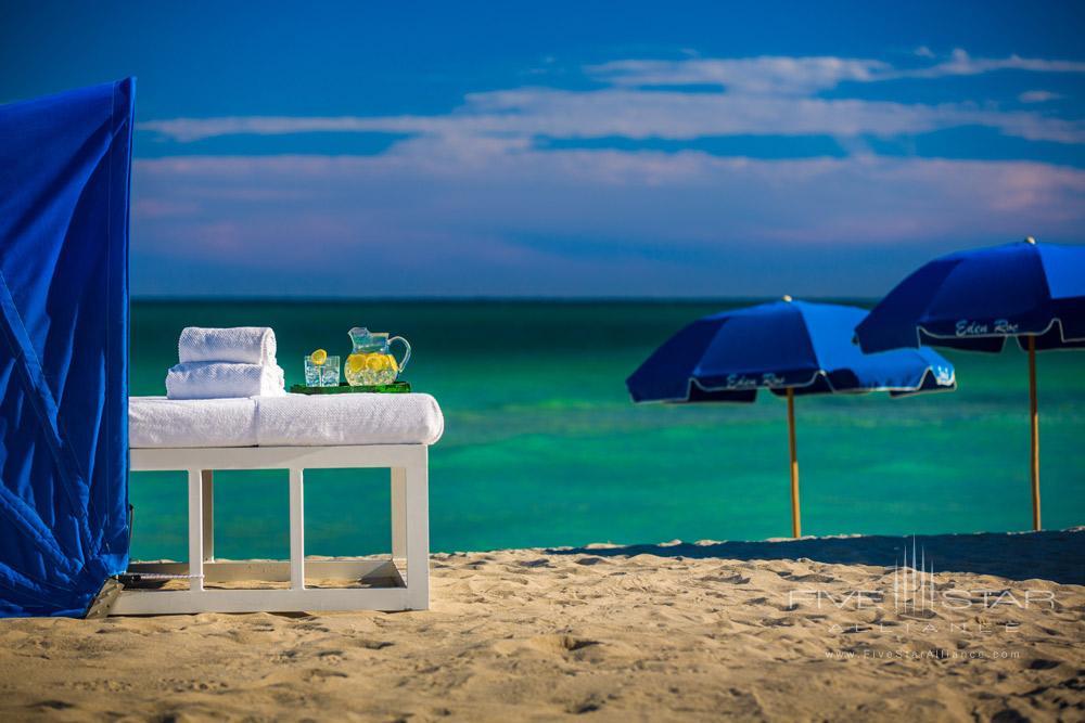 Beach Area at Eden Roc Miami Beach