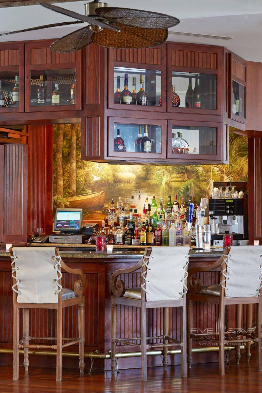 Lobby bar at Bohemian Hotel Celebration.