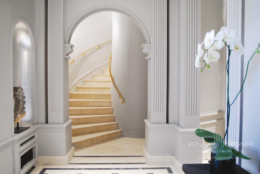 La Reserve Paris Elegant Stairway