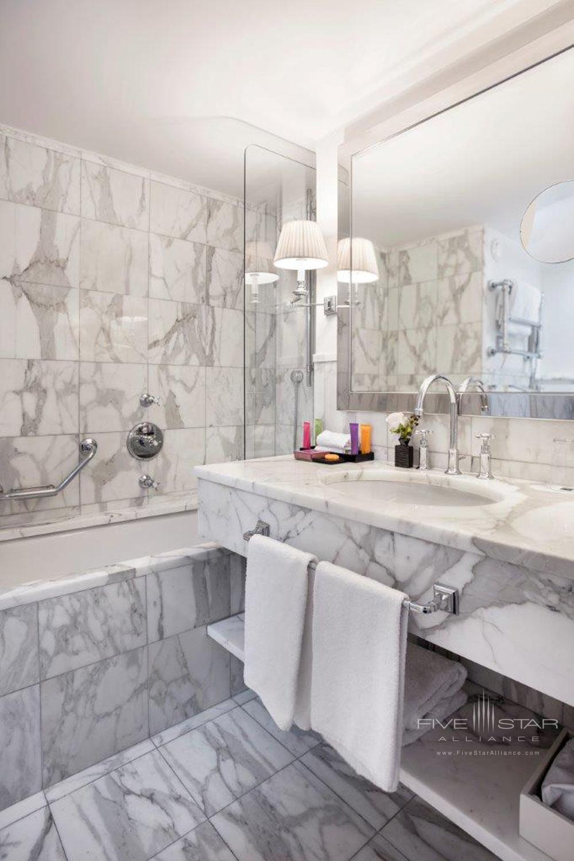 Deluxe Bathroom at Castille Paris