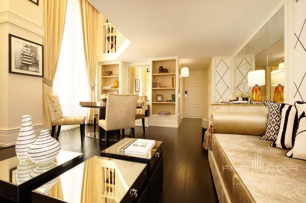 Duplex Living Room at Castille Paris